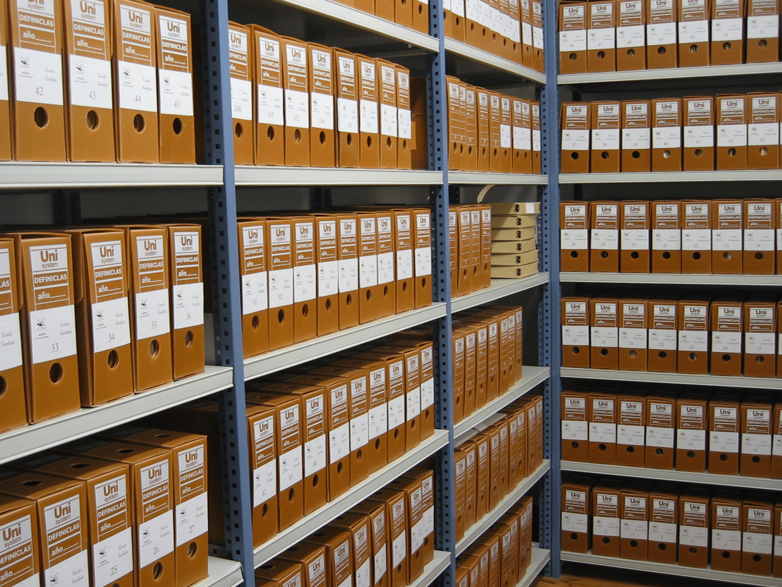Deposito per archivi