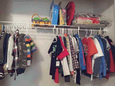 Kids clothes and games
