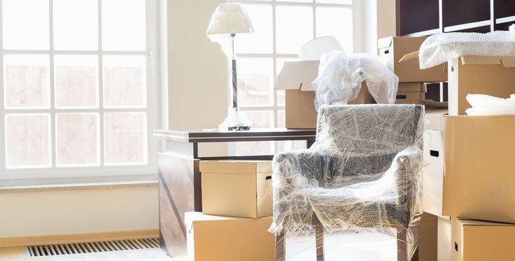 Deposito mobili temporaneo per il trasloco d casa e ufficio