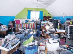 fare spazio in casa o in garage